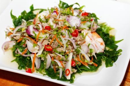 mishmash: Fern salad Stock Photo