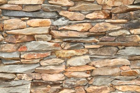 redbrick: Stone wall Stock Photo