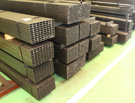 extrusion: Industry factory iron works steel