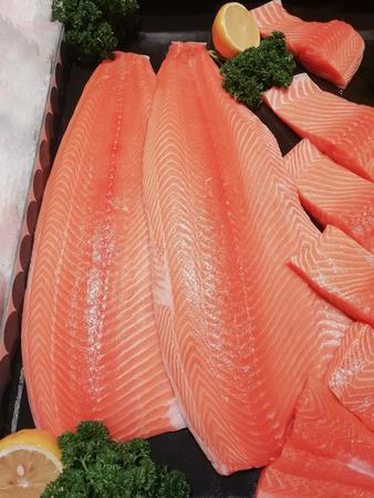 Salmon Sushi Sashimi Japanese Food Stok Fotoğraf