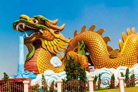 Suphun ぶりタイでドラゴンの子孫の博物館。 写真素材
