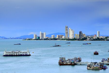 Pattaya city in Chonburi Thailand