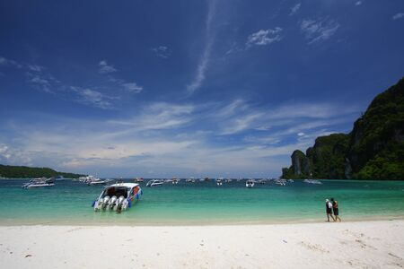 Phi Phi island Krabi, Thailand photo