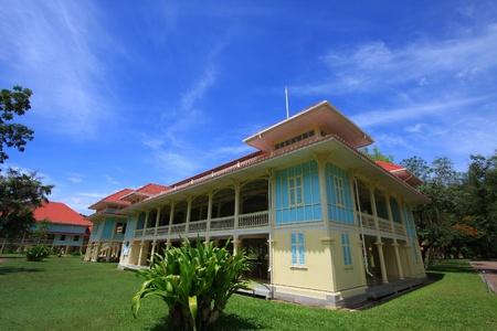 cha: the summer palace of the king at Hua Hin - Cha Am in Thailand Editorial