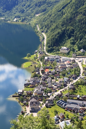 Hallstatt, the most beautiful lake town in the world, Austria