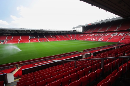 stadia: Old trafford stadium-July 28   Old trafford on July 28, 2008 is a football stadium in Old Trafford, Greater Manchester, England, and the home of Manchester United