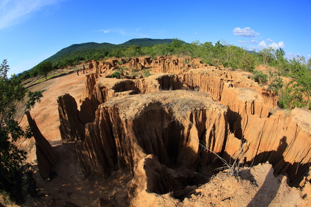 natural wonders: Lalu is natural wonders and has become a tourist attraction At Sa Kaeo province of Thailand. Stock Photo