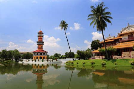 Bang Pa-In Royal Palace in Thailand.