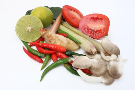 seasoning: Seasoning of spicy lemongrass soup