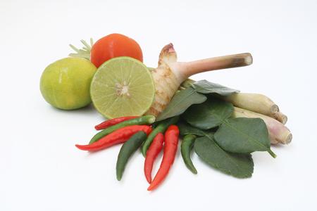 comida gourmet: Condimento de lemongrass sopa picante