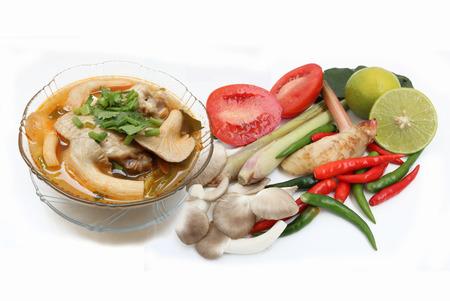 lemongrass: spicy lemongrass soup chicken thailand and Seasoning