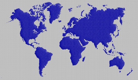 backgroud: blue and metal backgroud world map