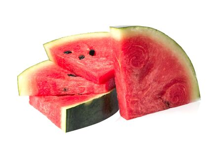 solated on white: watermelon islice solated on white background
