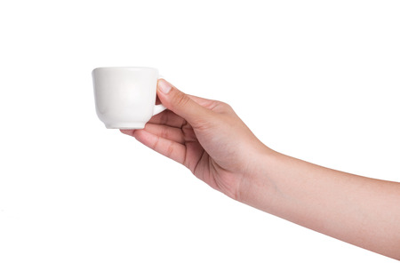 pure white cup of tea
