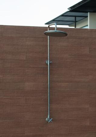 rain shower: Outdoor rain shower