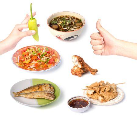 i like: I like Thai foods