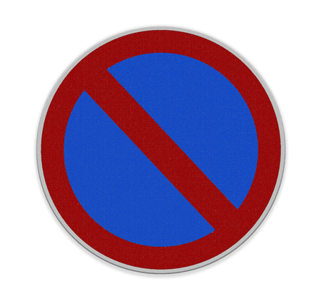 red sign: Not Allowed Sign