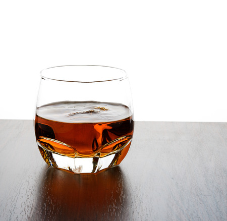 glass of whisky Banque d'images