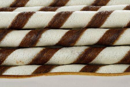 wafer: chocolate wafer sticks