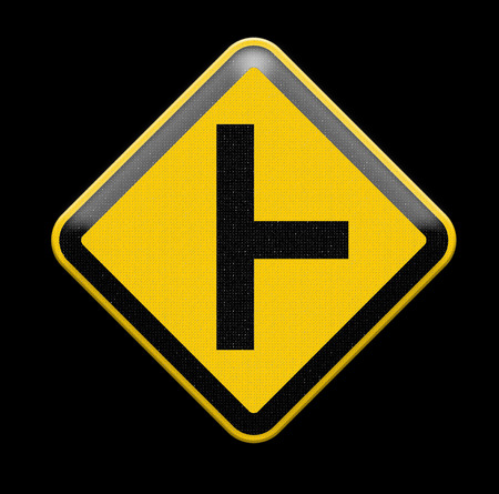 heed: three intersection sign
