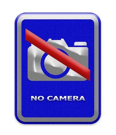 use regulations: No camera sign Stock Photo