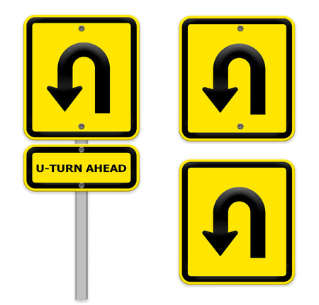 uturn: U-Turn Road signs