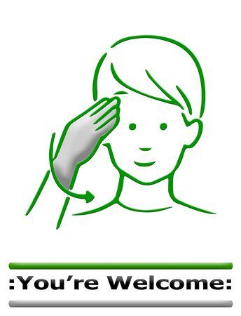 dedo me�ique: cuerpo muestra del dedo alfabeto