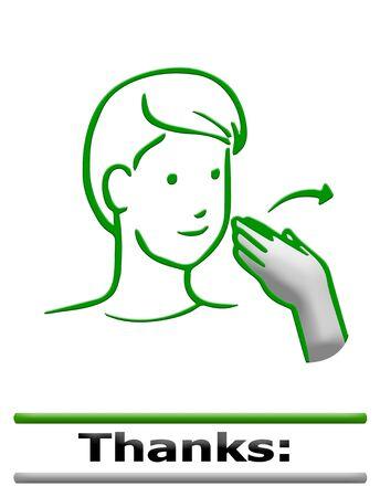 sign language: sign language finger alphabet