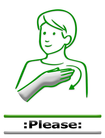pinkie: sign language finger alphabet