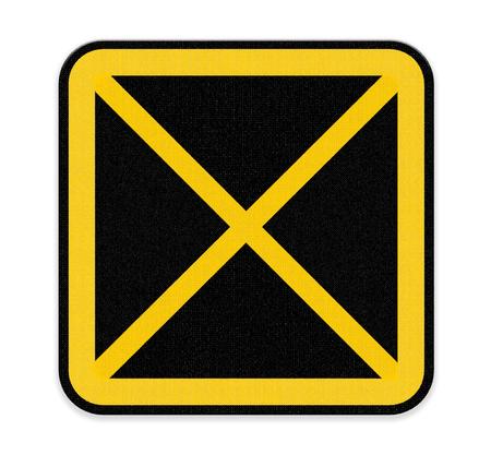 no pase: no deje de coche Muestra de la zona Foto de archivo