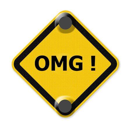 abbreviated: omg segno