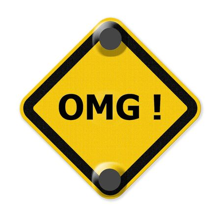 abbreviated: omg sign