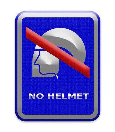 refrain: no helmet sign