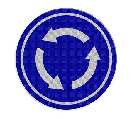 crossroad: Cruce la rotonda se�al de tr�fico
