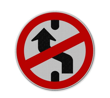 anywhere: traffic sign part of a series