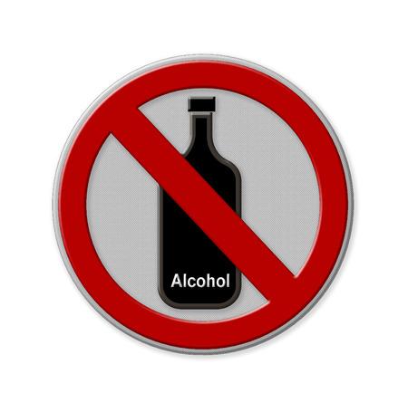 No alcohol sign photo