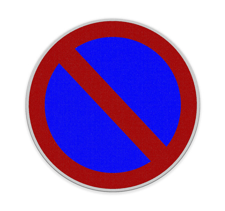 abstain: Not Allowed Sign