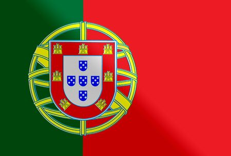 bandera de portugal: bandera nacional de Portugal Foto de archivo