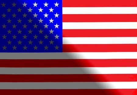 America national flag Фото со стока