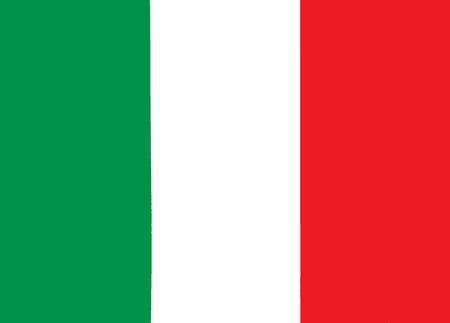 Italy national flag Фото со стока