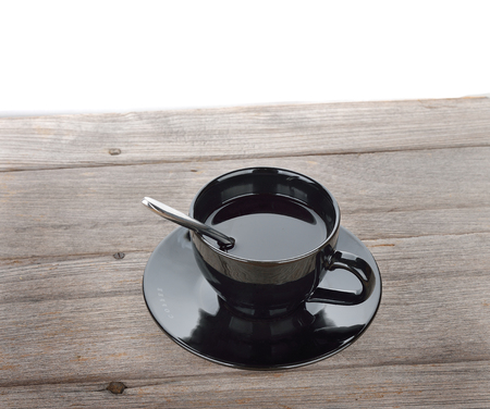 A cup of coffee o