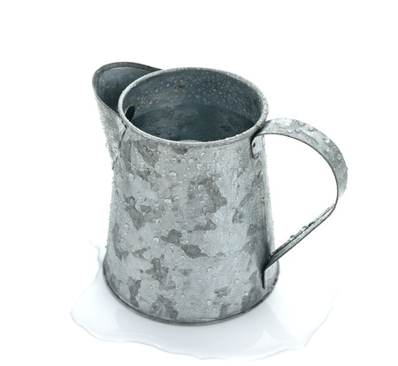 tin: Jug made of tin