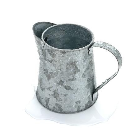 Jug made of tin