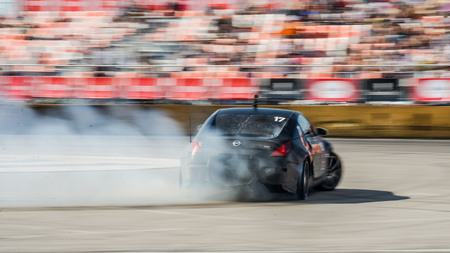 d1: Khabarovsk Russia Jul 10, 2016 : Russian Drift Series Stage 4 RDS Vostok 2016 Editorial