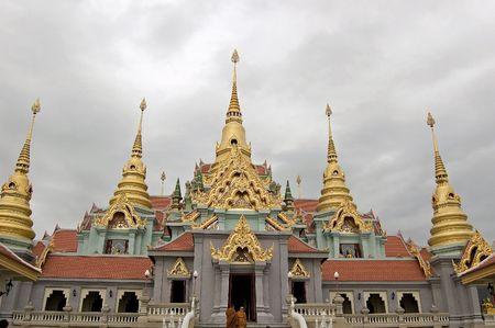 The temple at Ban Krut, Prachuap Khiri Khan.