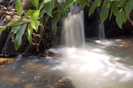 Litte Waterfall at Than Sadet Watafall on Koh Phangan, Surat Thani.