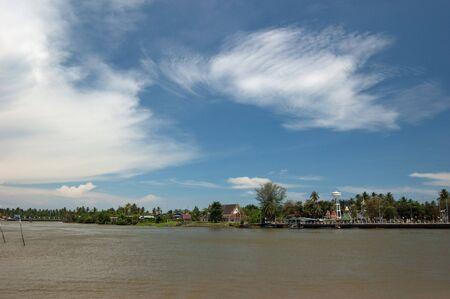 Tha Chin River, Thailand.