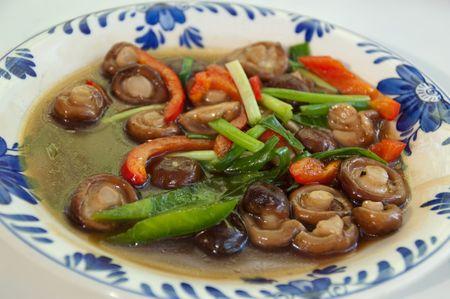 Thai Food at Doi Inthanon, Chaing Mai, Thailand.