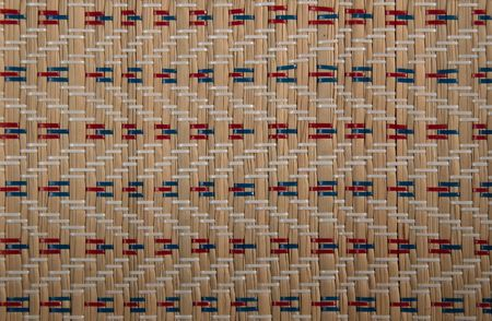 Patterns on the mat. Stock Photo