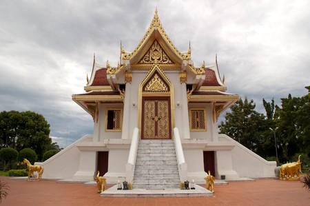 Pillar pavilion of Krabi, Thailand. Stock Photo